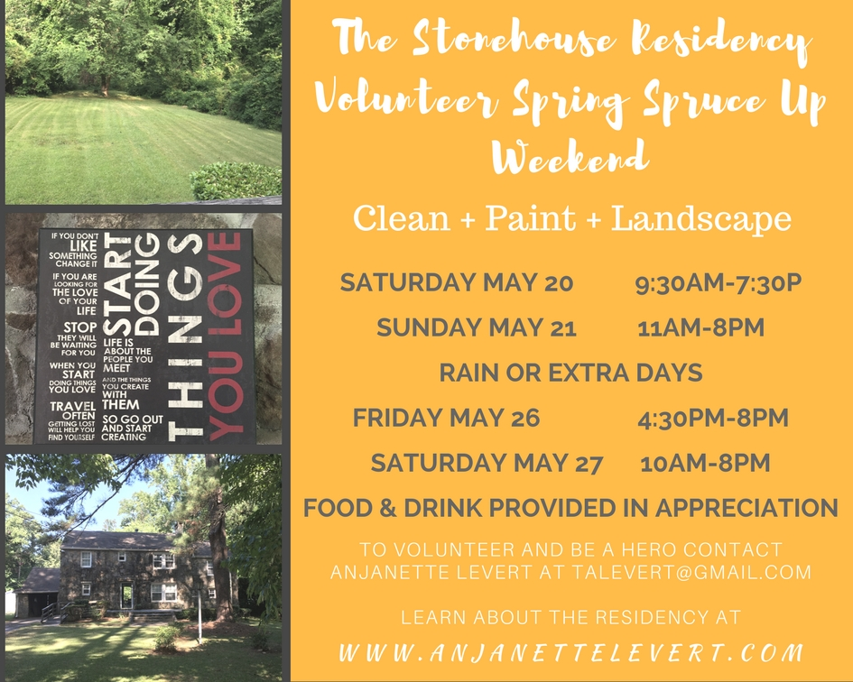Stonehouse Spring Spruce Up May 20 & 21 2017